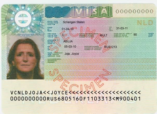 护照 旅游签证 欧洲