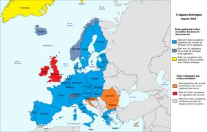 visa pour l'europe