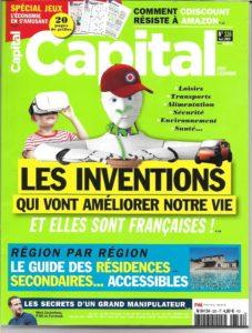 Capital le magazine de l'économie soutient Smartphone iD