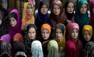 voile religieux photos d'identité